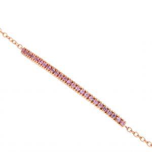 Bracciale-Petit-con-zaffiri-rosa