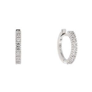Orecchini Petit con diamanti bianchi